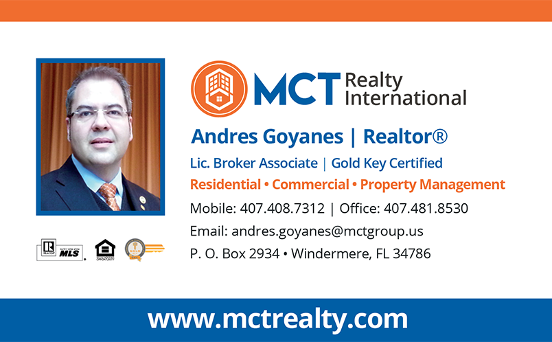 Andres Goyanes - Realtor® & Broker Associate