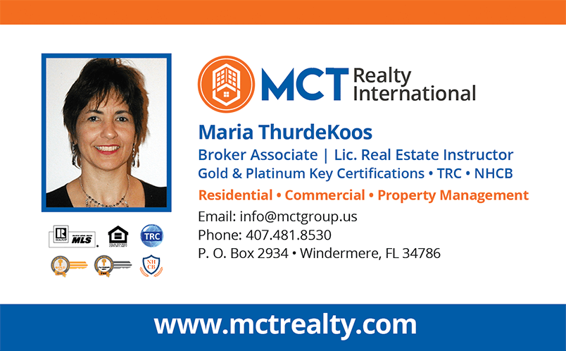 Maria ThurdeKoos - Broker Associate